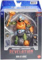 Les Maitres de l\'Univers Masterverse - Revelation Man-At-Arms