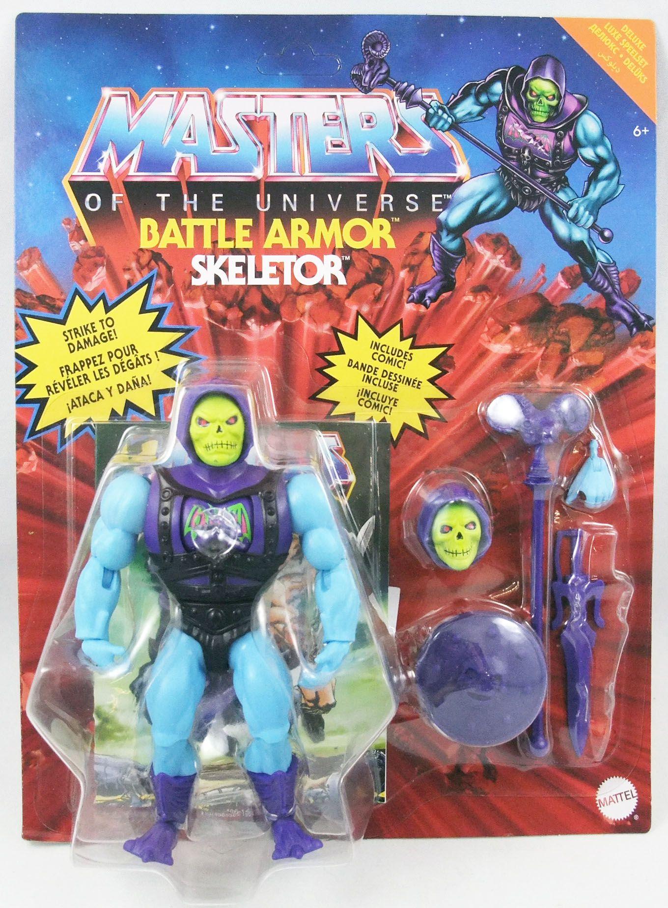 Les Maitres de l\'Univers Origins - Battle Armor Skeletor (Skeletor l\'Invincible)