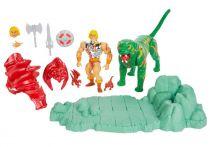 Les Maitres de l\'Univers Origins - Battlefield Warriors : Battle Armor He-Man & Battle Cat