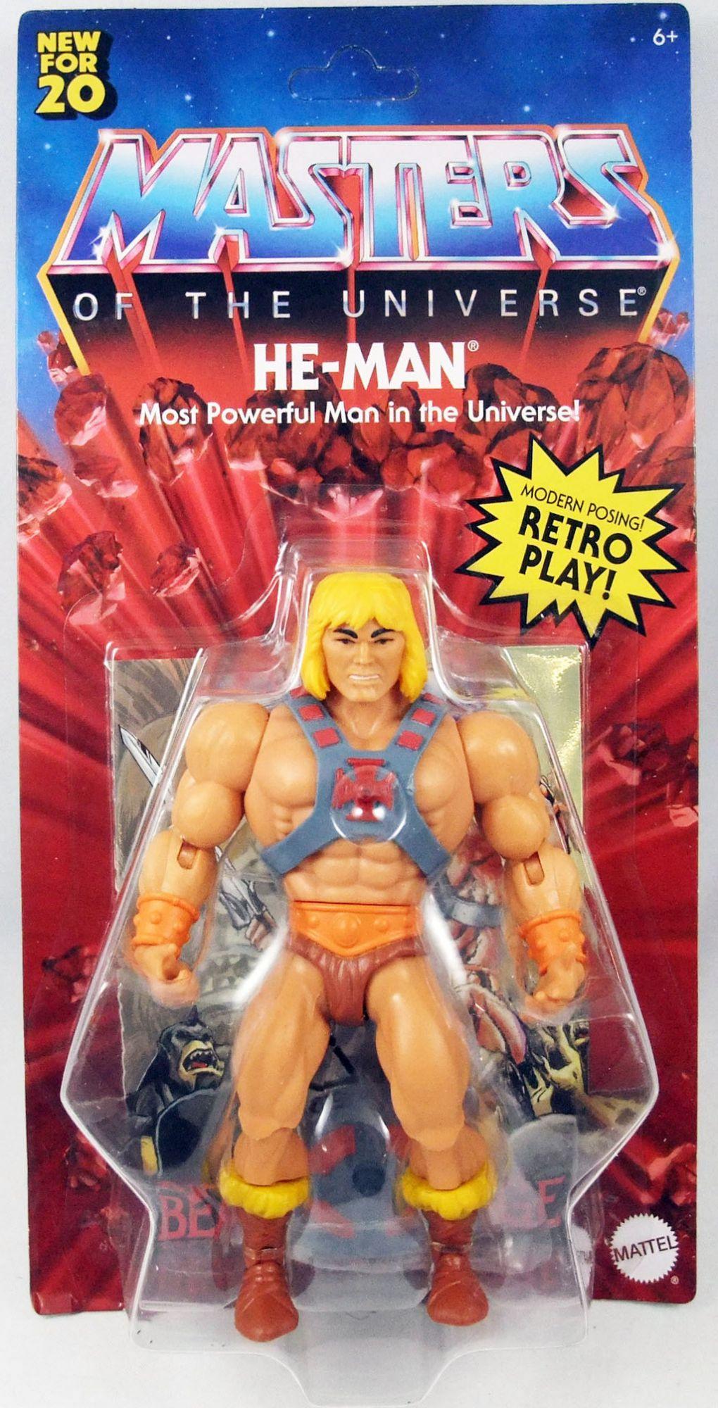 Les Maitres de l\'Univers Origins - He-Man / Musclor (Version USA)