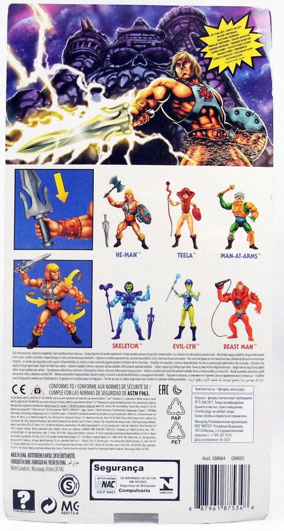 Les Maitres de l\'Univers Origins - He-Man (Musclor)