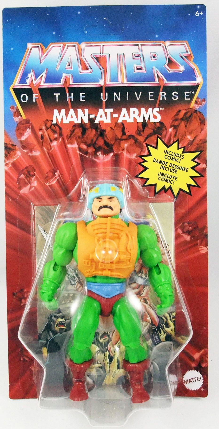 Les Maitres de l\'Univers Origins - Man-At-Arms (Le Maitre d\'Armes)