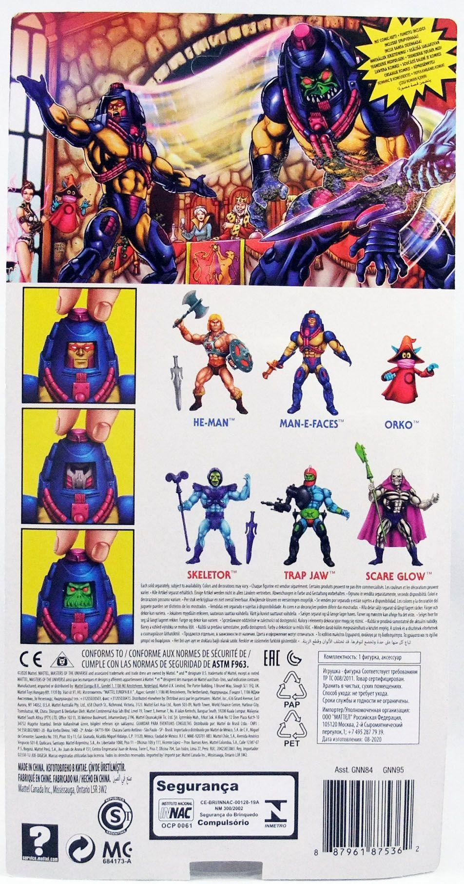 Les Maitres de l\'Univers Origins - Man-E-Faces (Maskor)