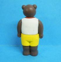 Les mondes de Petit Ours Brun - Bayard Presse PVC Figure - Dad Ours Brun lifeguard