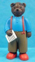 Les mondes de Petit Ours Brun - Figurine PVC Bayard Presse - Papa Ours Brun et son journal