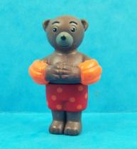 Les mondes de Petit Ours Brun - Figurine PVC Bayard Presse - Petit Ours Brun à la piscine