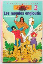 """Les Mondes Engloutis - Bibliothèque Rose - \""""Les Mondes Engloutis\"""""""