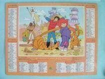 Les Mondes Engloutis - Calendrier almanach PTT 1987