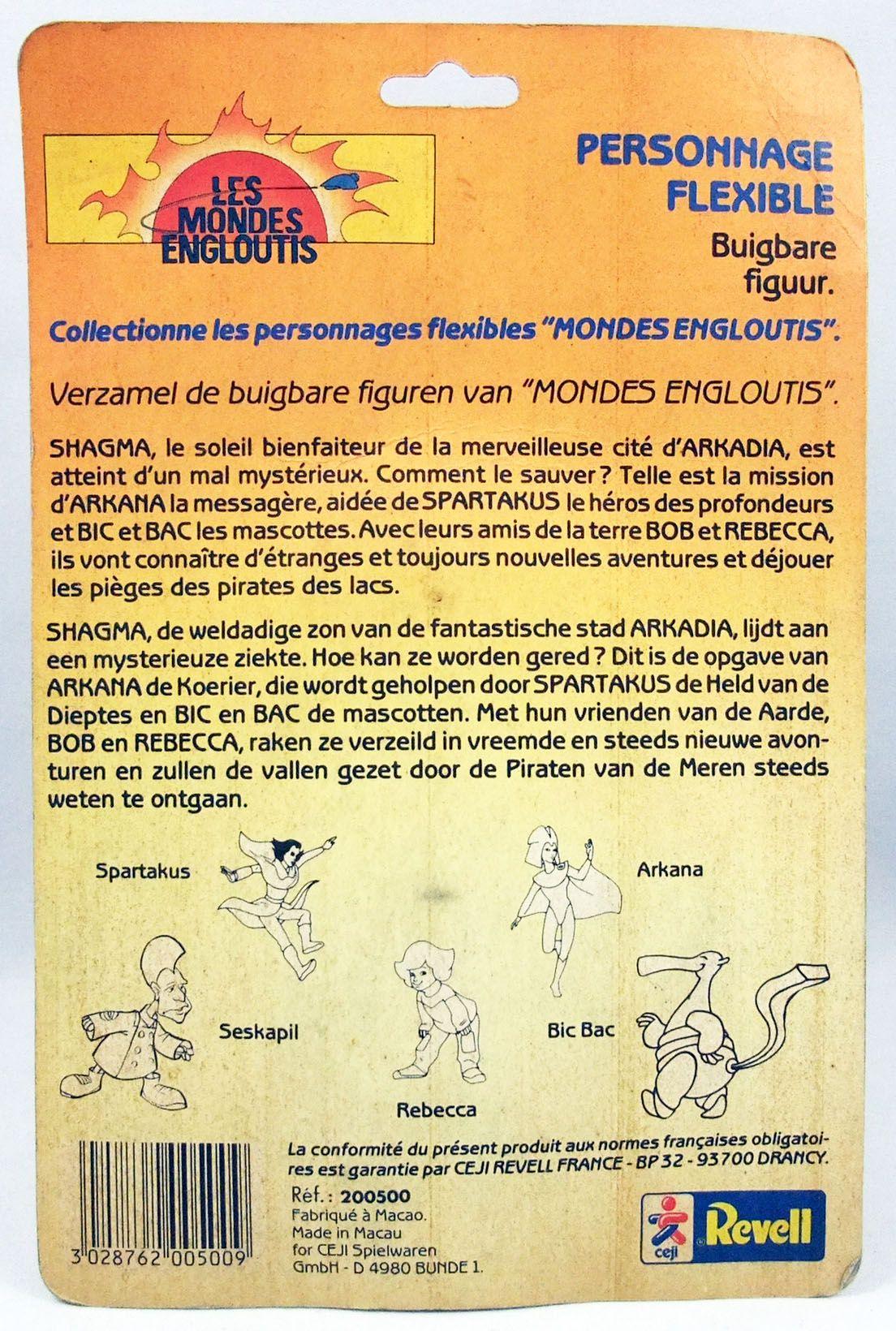 Les Mondes Engloutis - Figurine flexible - Rebecca