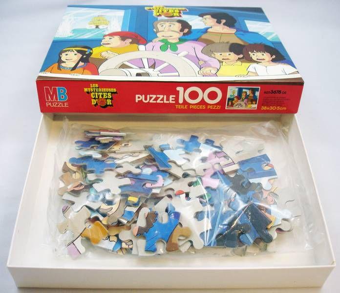 Mbref Les Mystérieuses Puzzle 3678 D'or Cités 02 625 tsrChQdBx