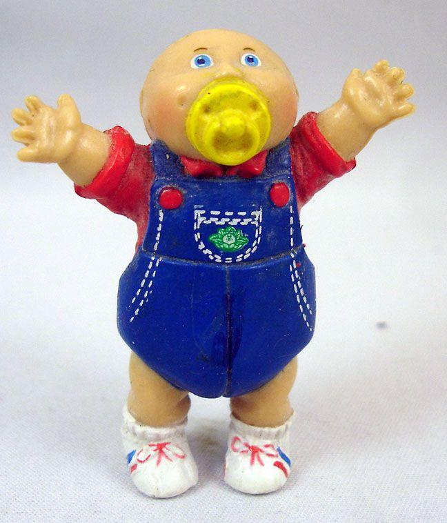 Les Patoufs - Figurine PVC 1984 - Bébé garçon avec tétine