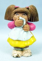 Les Patoufs - Figurine PVC 1984 - Fille qui glousse