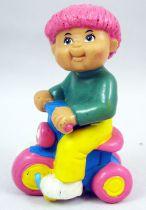 Les Patoufs - Figurine PVC 1984 - Garçon sur tricycle