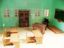 Les Petits Malins - Village - l\'Ecole de Malinville (+Bonus) - Bandai-Epoch 08