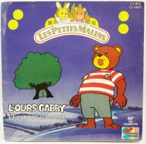Les Petits Malins (Mapple Town) - Mini-LP Record-Book - Gabby Bear and the magic tree - Ades Records 1986