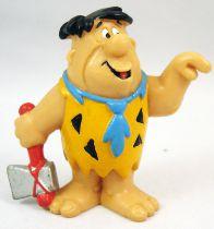 Les Pierrafeu - Bully 1983 - Fred Pierrafeu - Figurine PVC