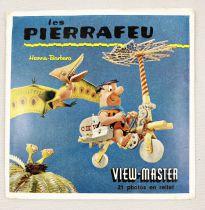 Les Pierrafeu - View-Master (Sawyer\'s Inc.) - Pochette de 3 disques (21 images stéréo) et Livret