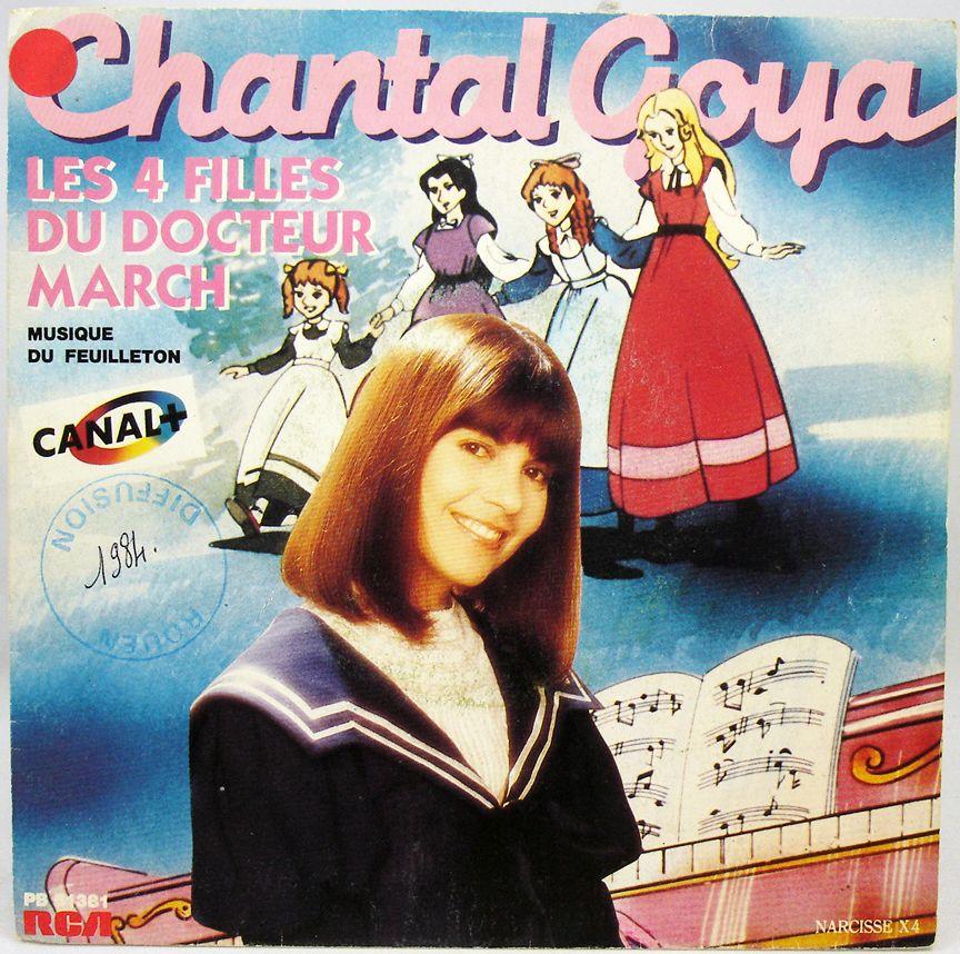 Les Quatre Filles du Docteur March - Disque 45T - Bande originale par Chanta Goya - RCA Records 1984