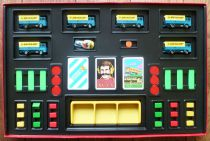 Les Routiers sont Sympa  Max Meynier  - Board Game - Ematec Majorette with 6 Saviem Dunlop Trucks