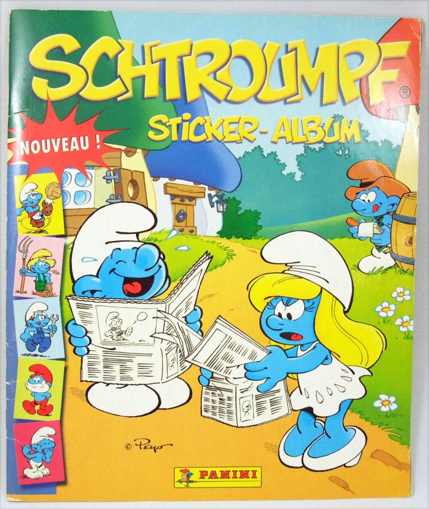 Les Schtroumpfs - Album Collecteur de vignettes Panini 2006