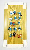 Les Schtroumpfs - Coffret de 15 mini-figurines Schtroumpfs - Exclusivité Albert Heijn (Hollande)