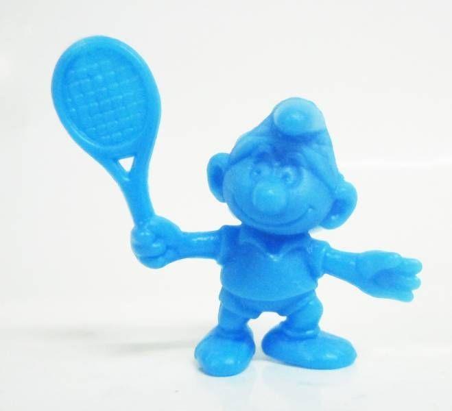 Les Schtroumpfs - Figurine Premium OMO - Schtroumpf tennisman