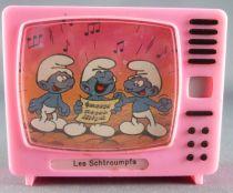 Les Schtroumpfs - Merchandising - Petite Télé à images mobiles