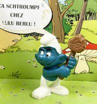 Les Schtroumpfs - Schleich - 20039 Schtroumpf avec maillet levé