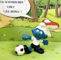 Les Schtroumpfs - Schleich - 20068 Schtroumpf footballer n°2