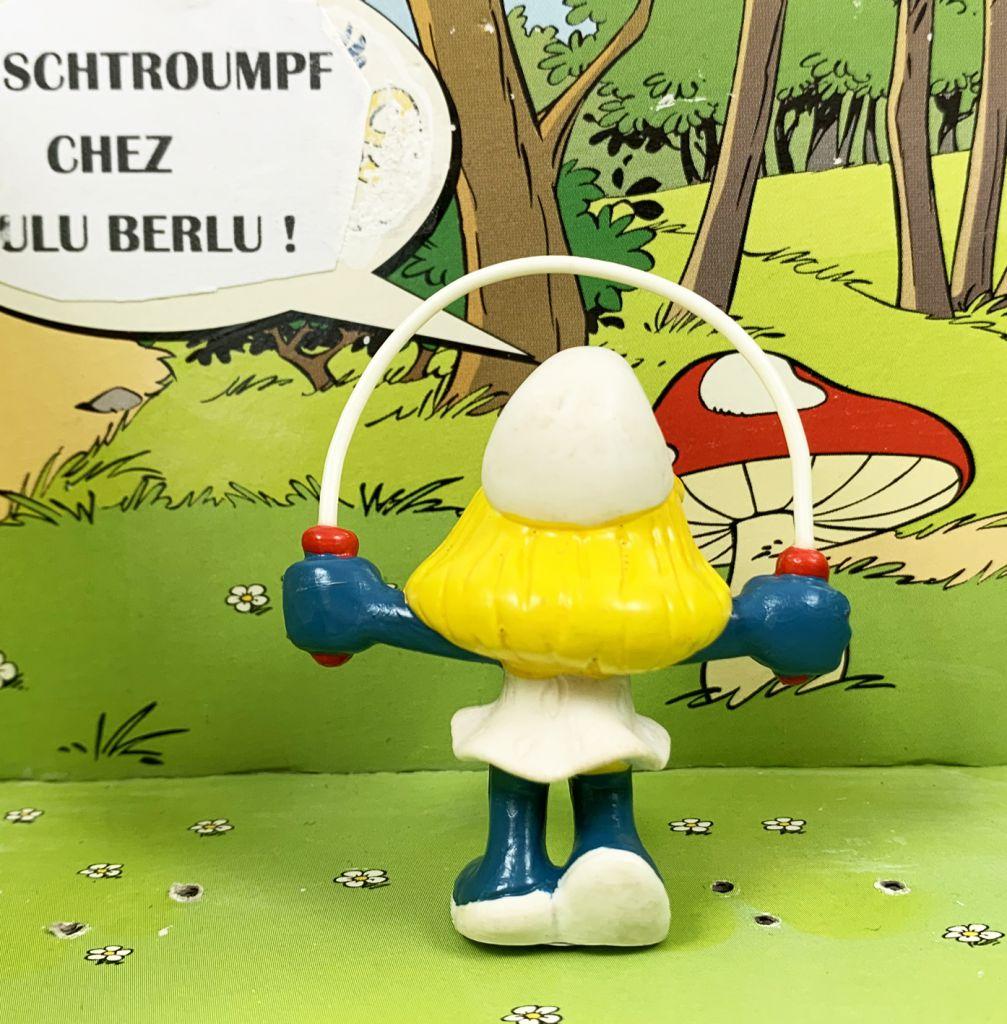 Les Schtroumpfs - Schleich - 20168 Schtroumpfette avec corde à sauter