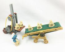 Les Schtroumpfs - Schleich - 40110 Chariot Élévateur 40120 Tapis Roulant (occasion)