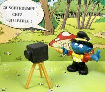 Les Schtroumpfs - Schleich - 40217 Schtroumpf photographe