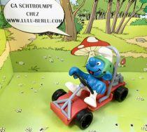 Les Schtroumpfs - Schleich - 40218 Schtroumpf conducteur de Kart