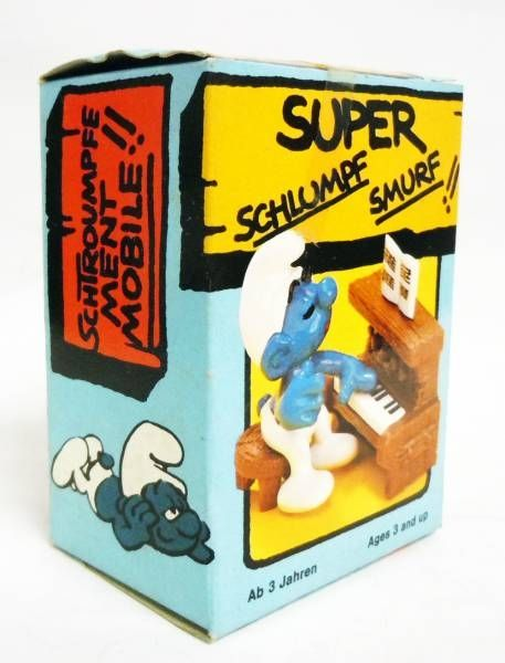 Les Schtroumpfs - Schleich - 40229 Schtroumpf avec Piano (neuf en boite)