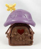 Les Schtroumpfs - Schleich Petite Maison Rose Toit Violet (occasion)