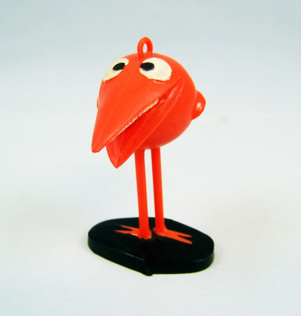 Les Shadoks - Figurine Jim - Shadok orange 01