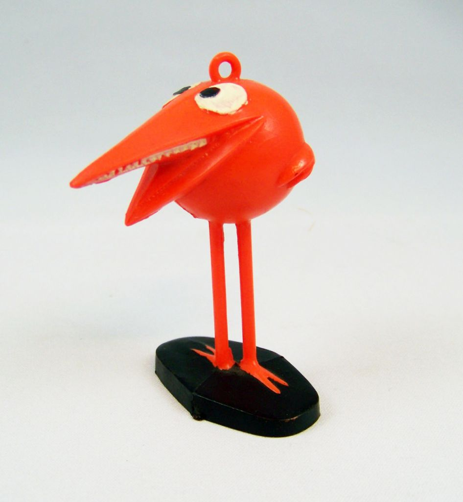 Les Shadoks - Figurine Jim - Shadok orange 02