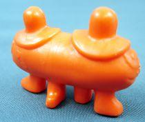 Les Shadoks - Figurine Premium Buitoni - Gibi à 2 tête orange
