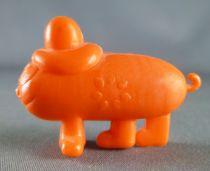 Les Shadoks - Figurine Premium Buitoni - Gibi classique orange