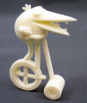 Les Shadoks - Figurine Premium Buitoni - Shadok sur monocycle blanc