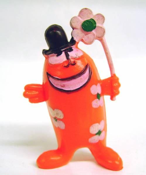 Les Shadoks - Jim Figure - Gibi on 2 legs (orange)