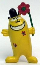 Les Shadoks - Jim Figure - Gibi standing (yellow)