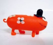 Les Shadoks - Jim Figure - Gibi with 4 legs (orange)