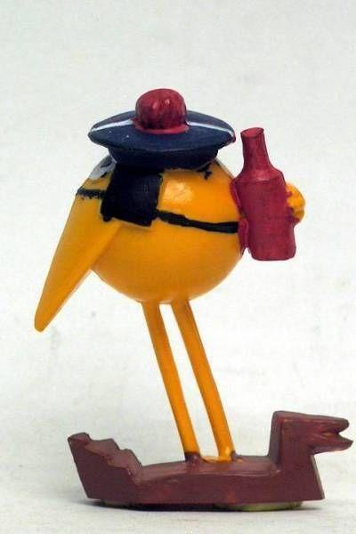 Les Shadoks - Jim Figure - Shadok sailor (dark yellow)