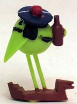 Les Shadoks - Jim Figure - Shadok sailor (green)