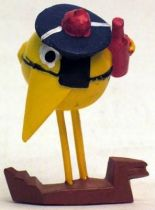 Les Shadoks - Jim Figure - Shadok sailor (light yellow)
