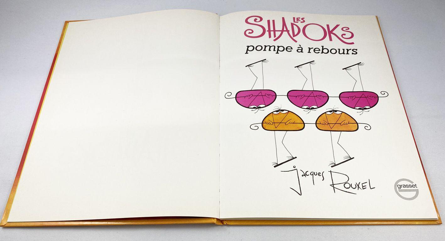 Les Shadoks : Pompe à Rebours - Editions Grasset (1975) Bandes Dessinées