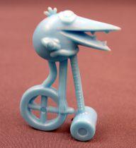 Les Shadoks - Premium Figure - Shadok on cycle bleu