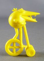 Les Shadoks - Premium Figure - Shadok on cycle yellow