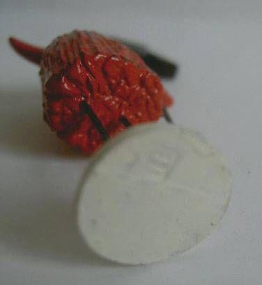 Les Shadoks - Shadock red sorcer figure Pixi